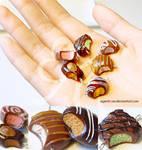 Miniature Polymer Clay Chocolates I
