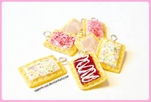 Polymer Clay Pop Tarts Pastries by AgentRose