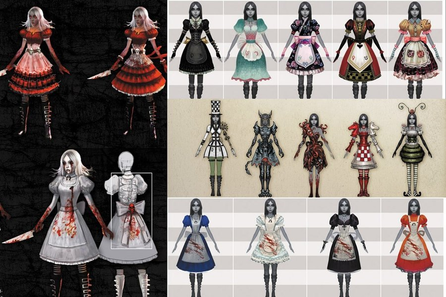 Alice Madness Returns Dresses 2 by Twilightlover865 on ...
