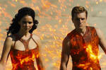 Catching Fire The Girl on fire