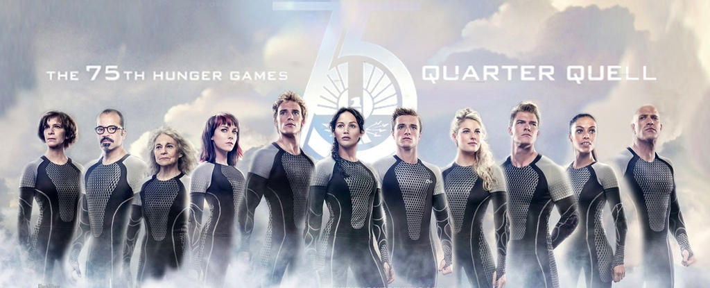 newest victors of the hunger games by twilightlover on The Hunger Games Victors Banner with Katniss and Peeta 1024x415