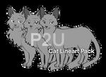 P2U Cat Lineart Pack