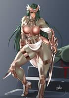 Knight by bowalia