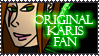 Original Karis Fan Stamp by Lead-Exile