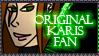Original Karis Fan Stamp by Lead-Exile