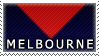 AFL Stamps- Melbourne by Lead-Exile