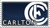 AFL Stamps- Carlton by Lead-Exile