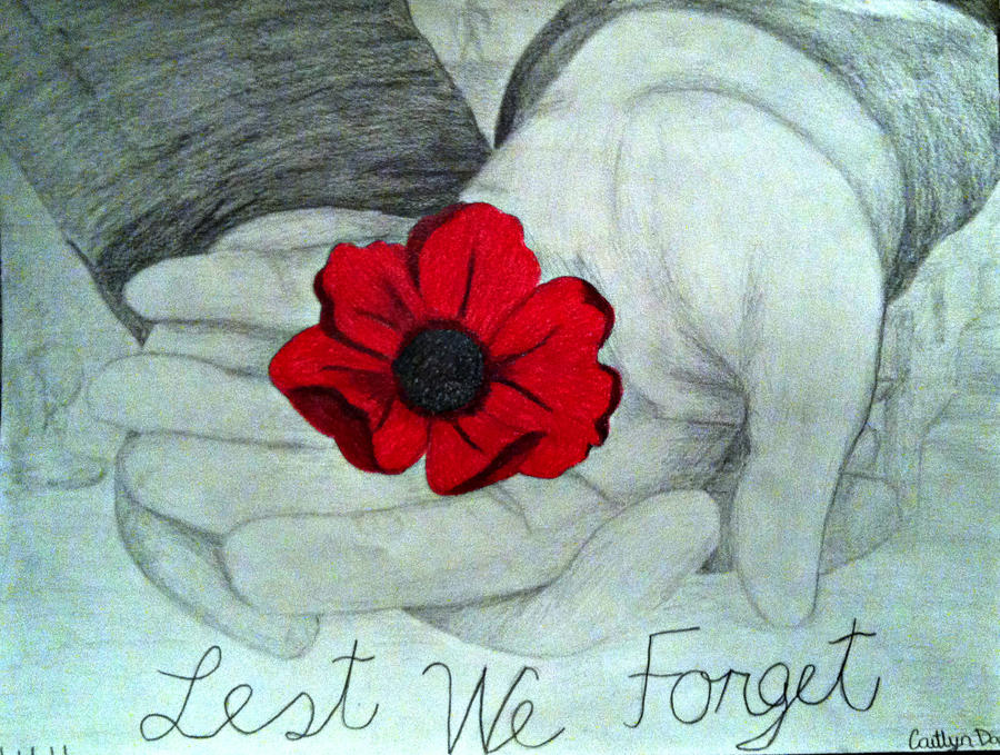 Remembrance Day Sketch by Casey3030 on DeviantArt