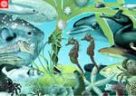 Surrealistic aquarium mashup by omnicogni