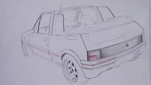Peugeot 205 CTi 1.9 Cabriolet (bulding)