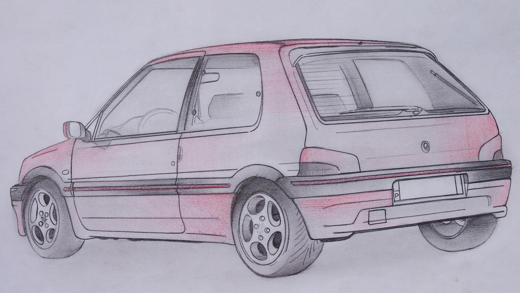 Peugeot 106 xsi 1 6 16v by lmmartinsn on deviantart for Interieur 106 xsi