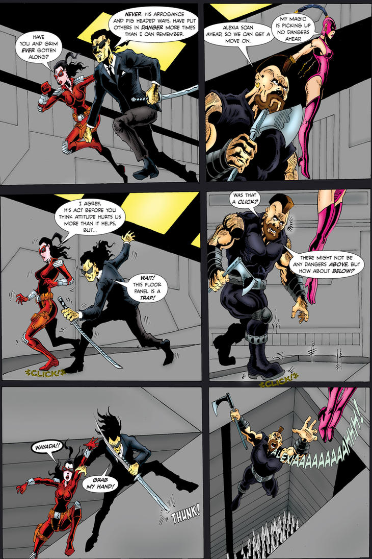 Nights Templar issue #2 page 7 by Yommer
