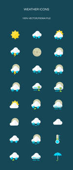 Freebie - Weather Icons