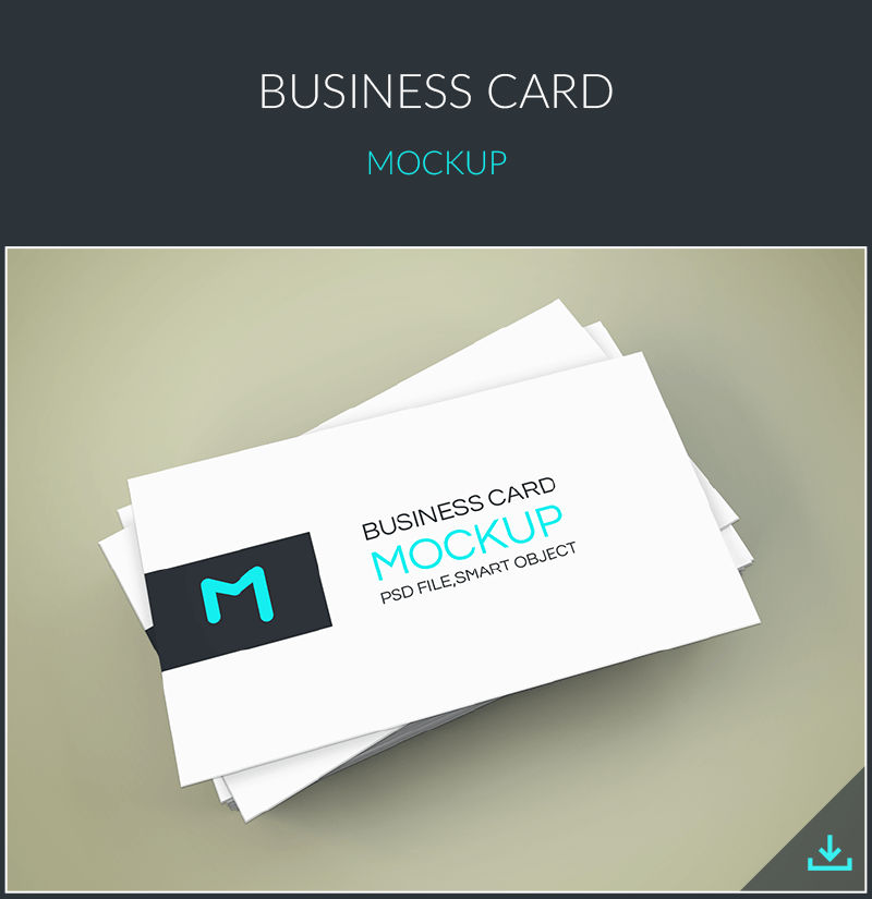 Elegant Business Cards Mockup By GraphBerry On