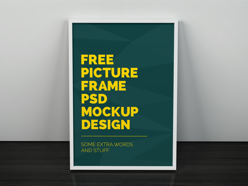 Freebie - Artwork Frame PSD Mockup by GraphBerry on DeviantArt