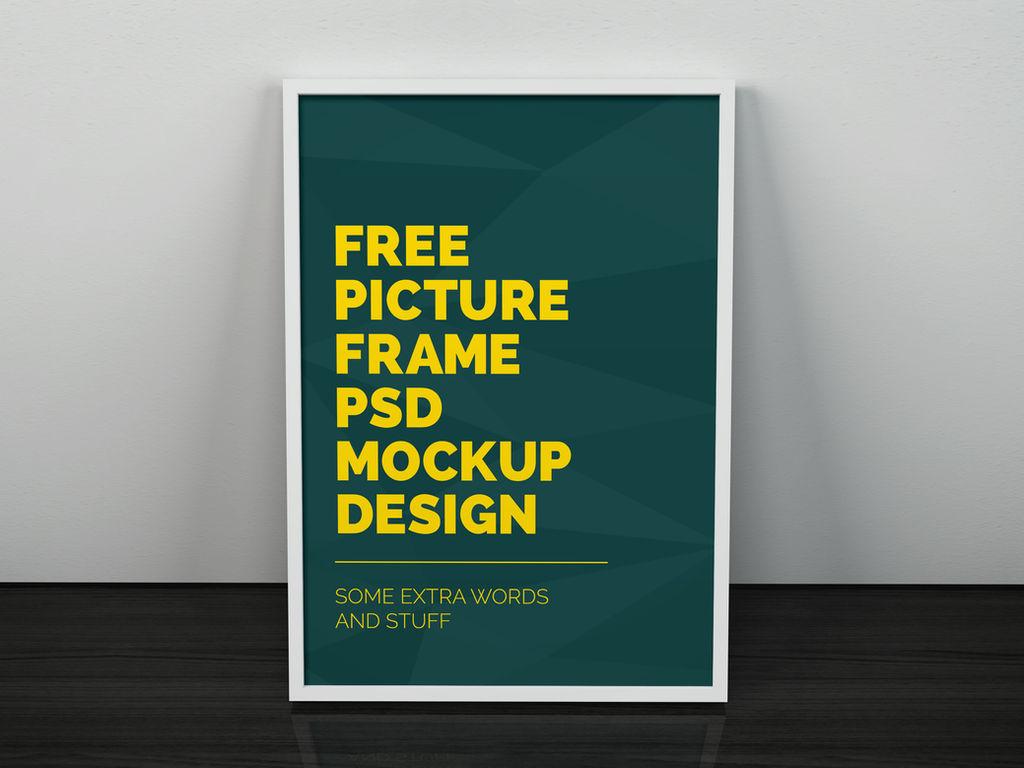 Freebie - Artwork Frame PSD Mockup