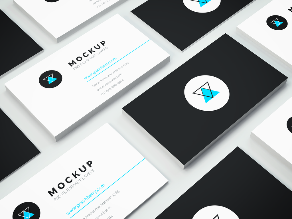 Freebie Business Card Psd Mockup By Graphberry On Deviantart