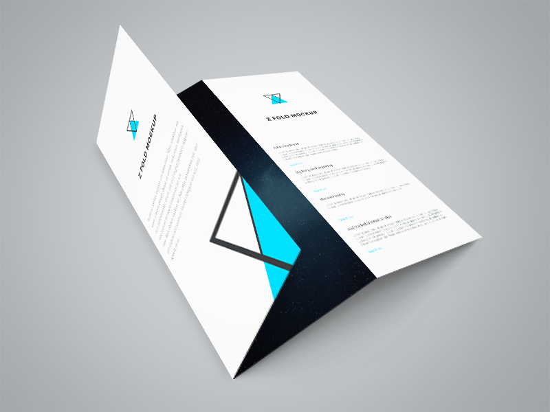 Freebie - Tri Fold Brochure PSD Mockup by GraphBerry on ...