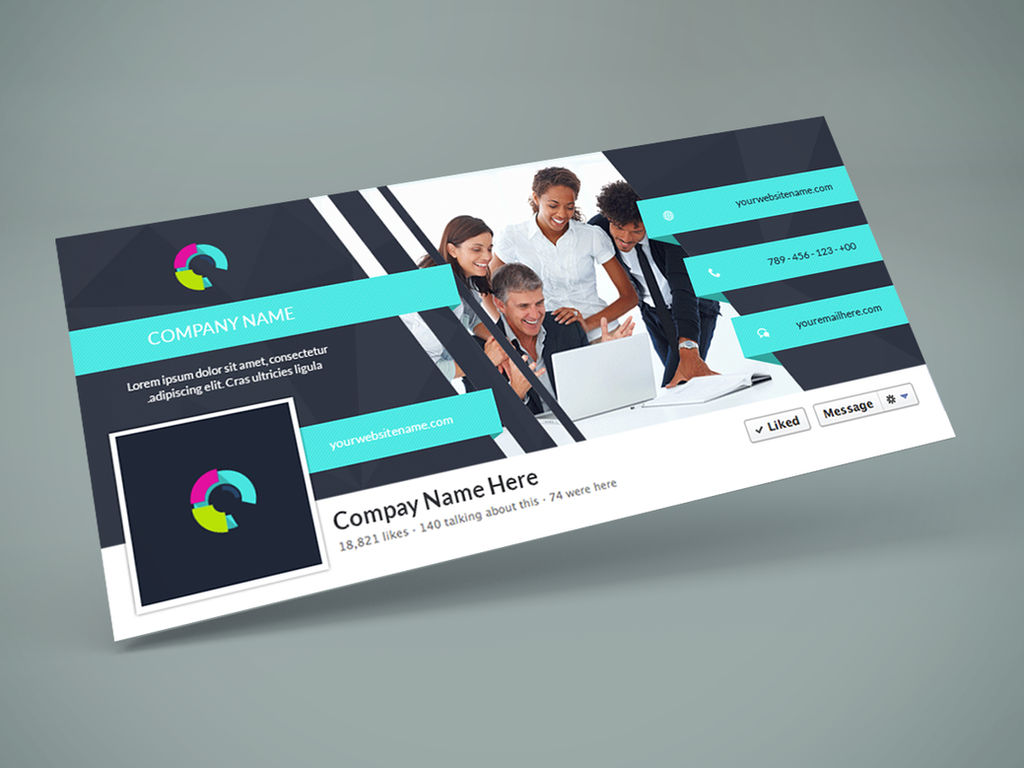Freebie - Facebook Cover PSD Design Template