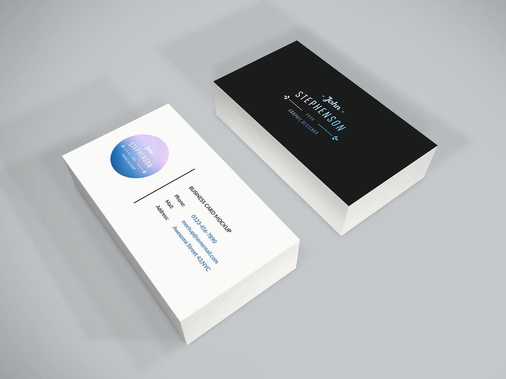 freebie  business card psd mockupgraphberry on deviantart