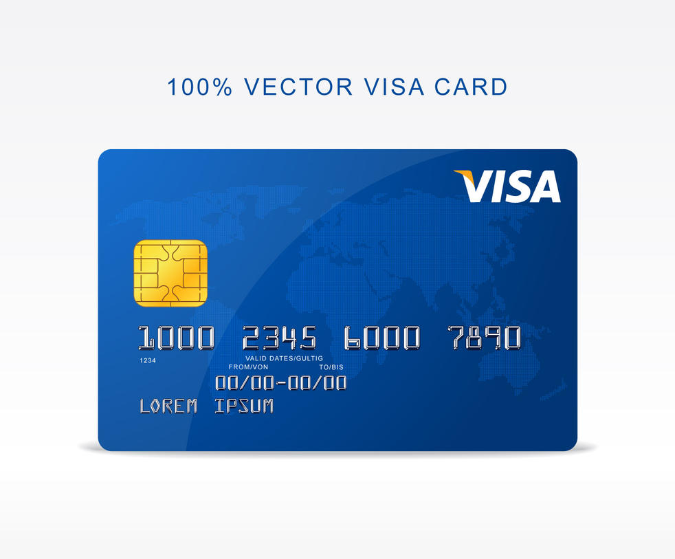 Visa Credit Card Number 2018