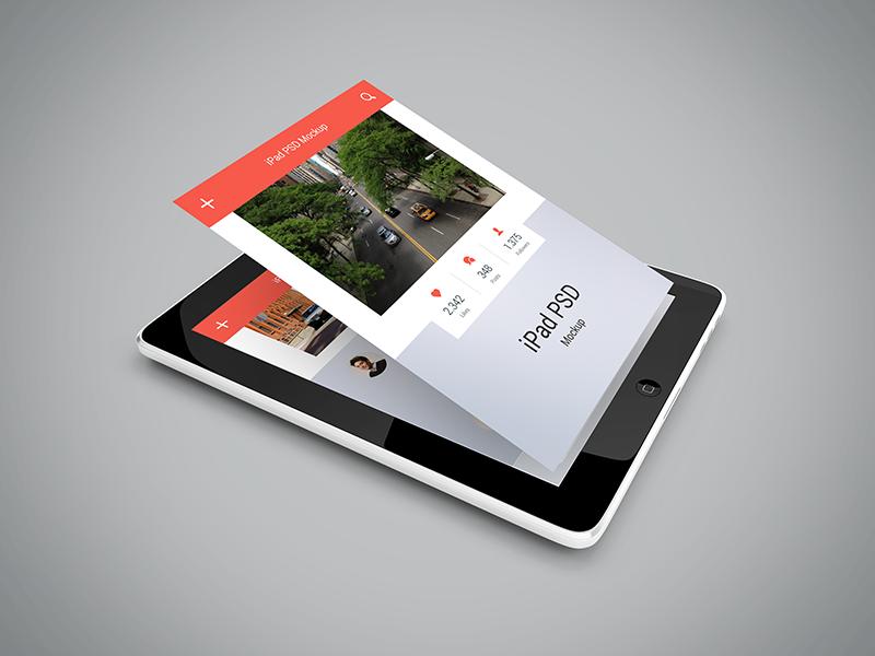 Freebie - iPad PSD Mockup by GraphBerry on DeviantArt