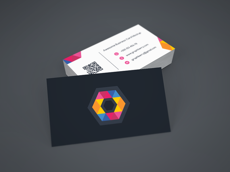 Freebie - Business Card Mockup by GraphBerry on DeviantArt