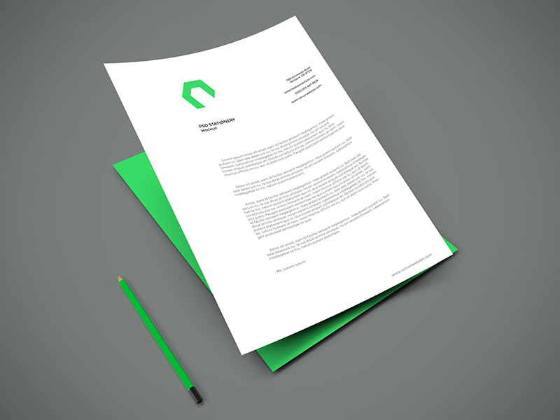 Freebie - A4 Paper PSD Mockup by GraphBerry on DeviantArt