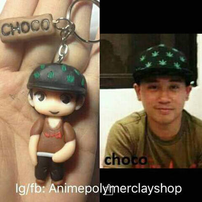 Chibi polymer clay by 2tsukiko2