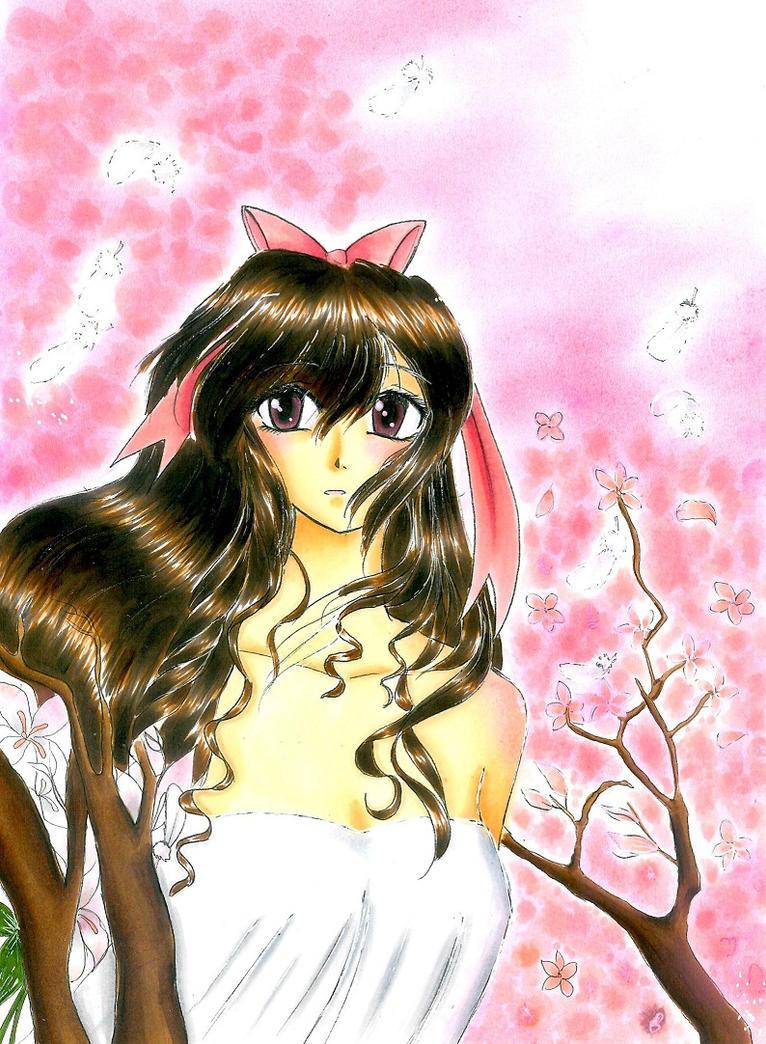 Under The Cherry Blossoms By Xx Shizuka Xx