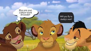 Chumvi, Tojo and Malka! (c Disney)