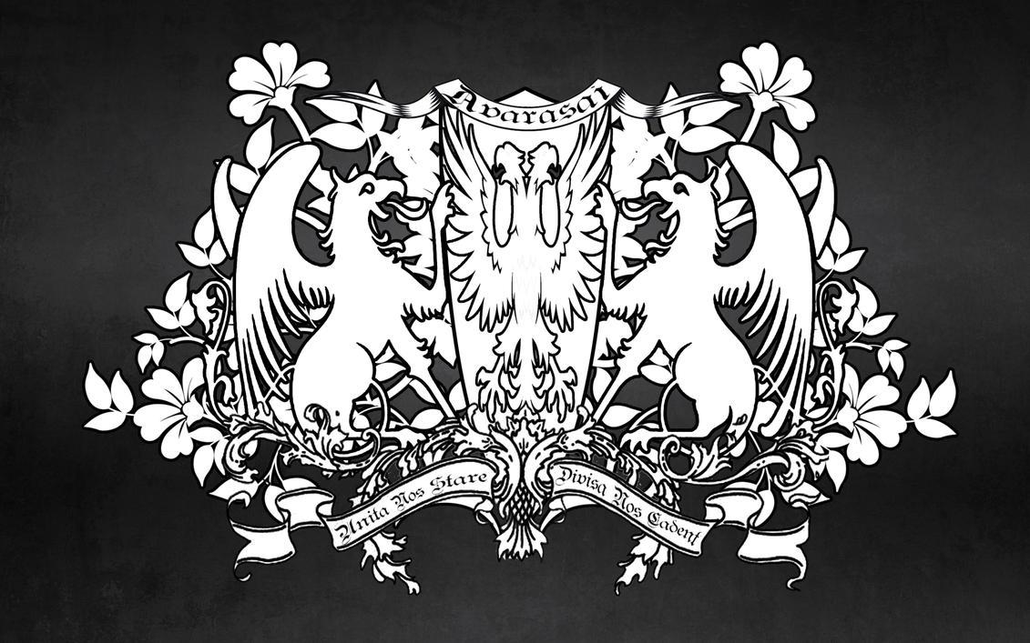 Guild Crest Template Avarasai crest/coat of arms