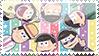 Osomatsu san Stamp by FallAtTheRomance
