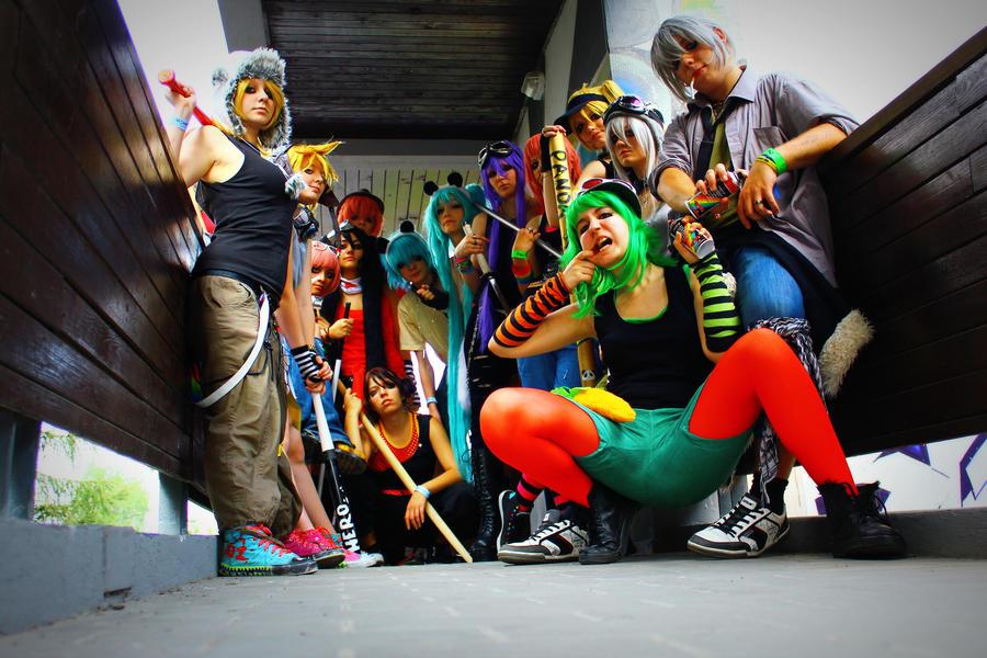 We are Panda Heroes by Joyloid