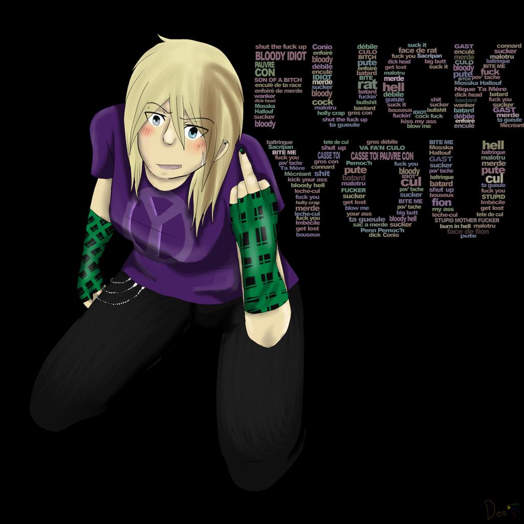 Fuck you ! by MiyaneChan