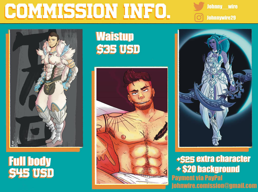 COMMISION INFO !