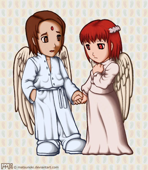 Mr. and Ms. Angel by matsunoki