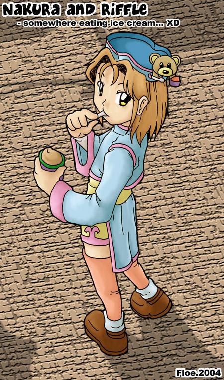 OC - Nakura and Riffle RPG.. by matsunoki