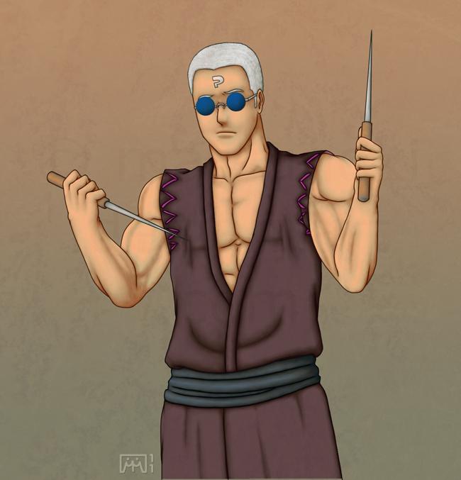 Elias alternate costume: Giichi by matsunoki