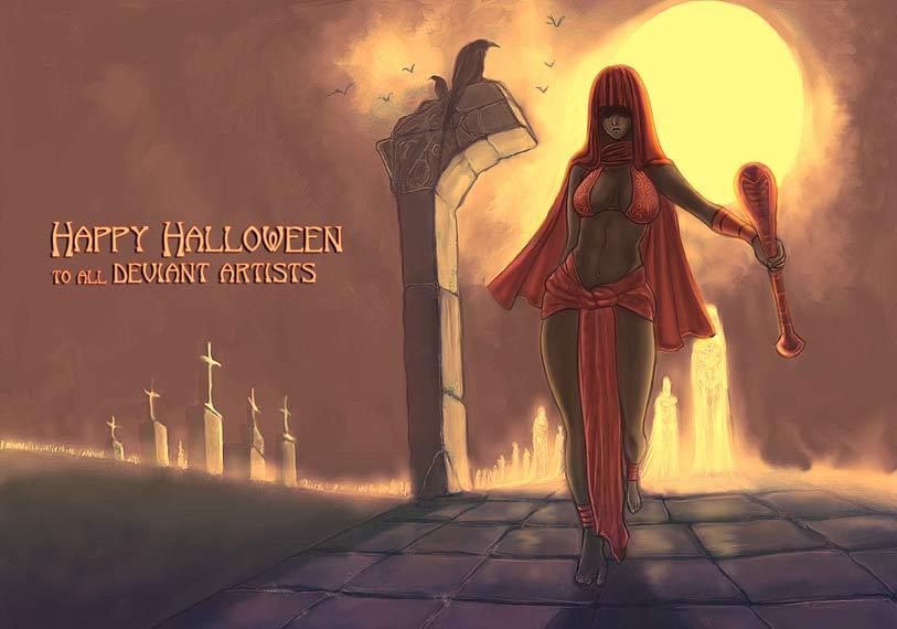 Halloween by Vaivedrai