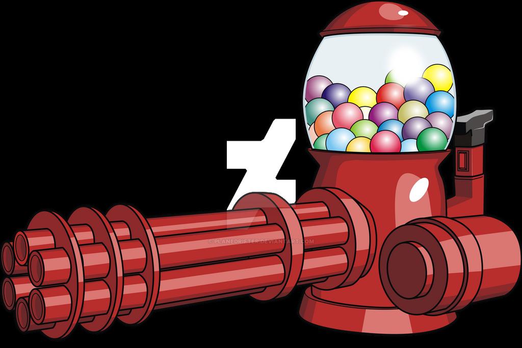 Candy Machine Gun by Planedrifter