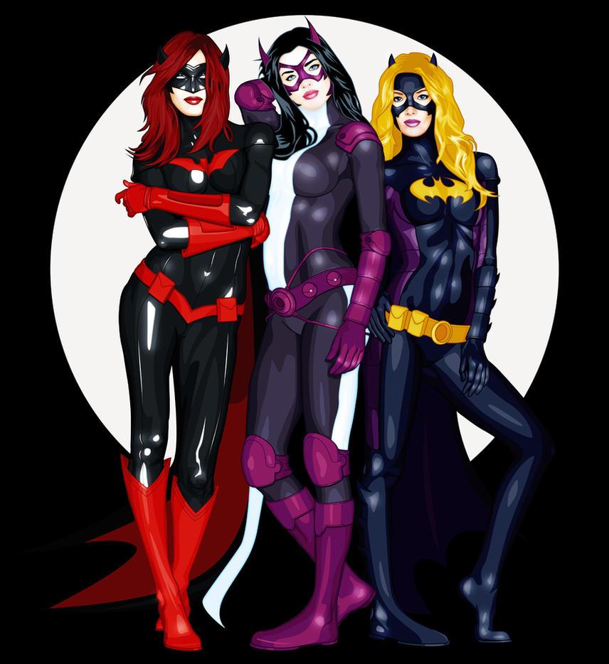 Batgirls by Planedrifter