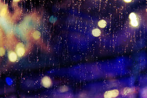 a rainy night by Kjinor