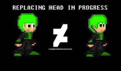 Replacing Head in progress