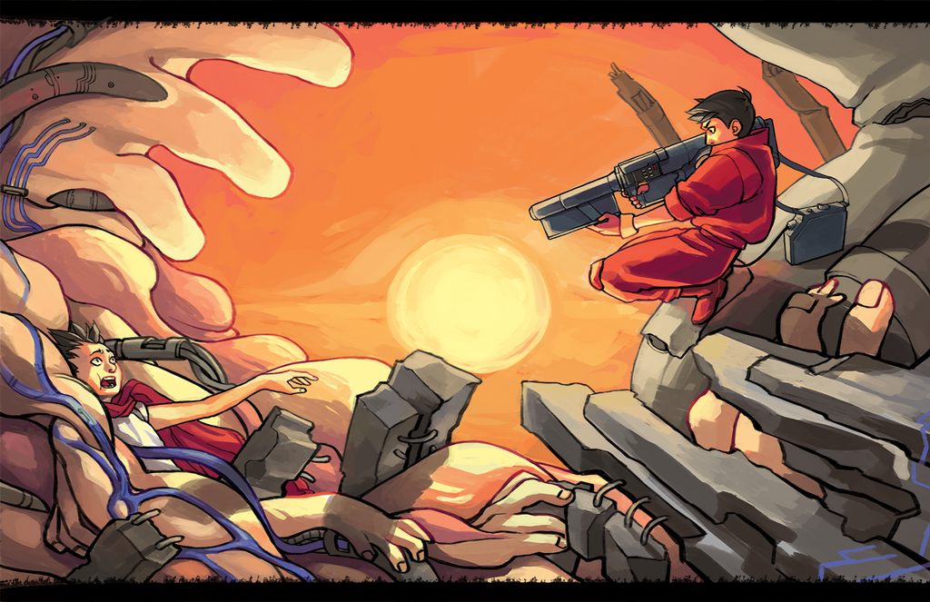 akira collab print by Sachiko-the-biscuit