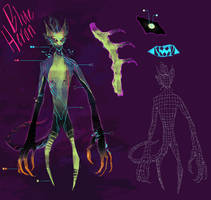 [Datagrim MYO] Blue Heron by A--Jude
