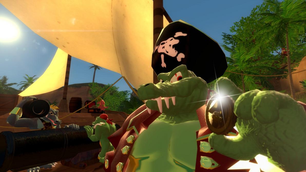 Kaptain K. Rool's Krew by SnivyVonDerp-PhuckII
