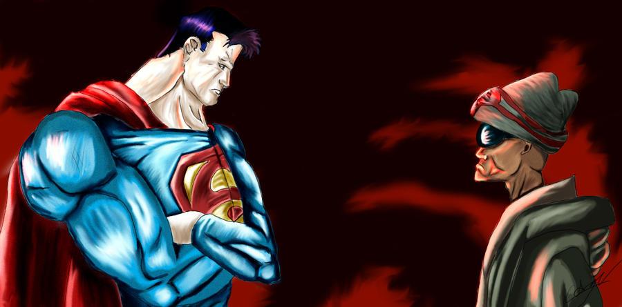 Superman Vs Hancock Fight