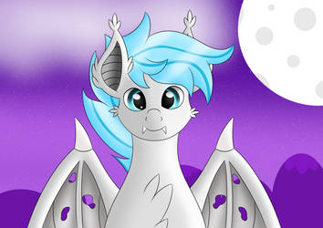 [Gift] Cute Dazzlebat by SyncedsArt