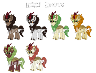 Kirin Adopts Batch #2 [Auction](Closed) by SyncedsArt